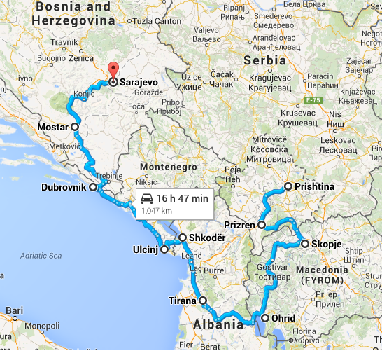 8 days in Balkan…