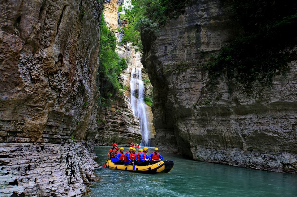 Visit Berat and Rafting in the Osumi Canyon, Skrapar